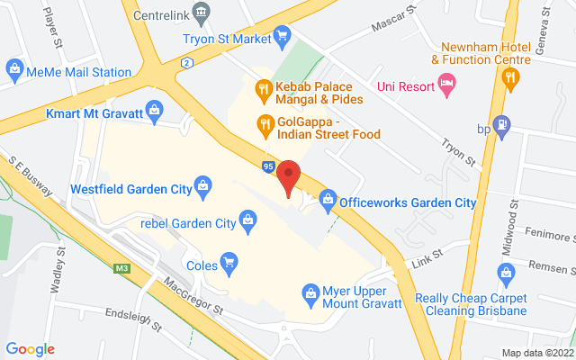 Google Map of Garden City
