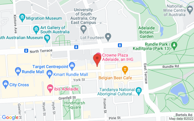Google Map of Adelaide City