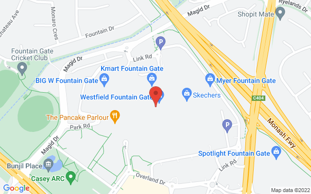 Google Map of Fountain Gate