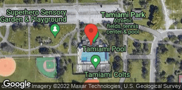 Locations for Friday Coed Softball/Tamiami Park (Summer 2019)