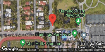 Locations for Wednesday Coed Softball/Flamingo Park (Fall 2019)