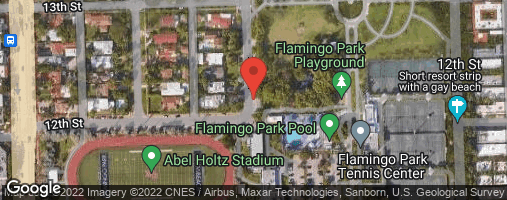 Locations for Thursday Coed Softball/Flamingo Park (Fall 2019)