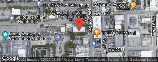Locations for Thursday Cornhole / The Deck at Wynwood (Fall 2018)