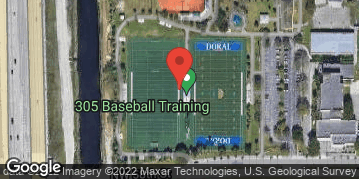 Locations for Sunday Men's Softball/Doral Meadows Park (Winter 2 2021)