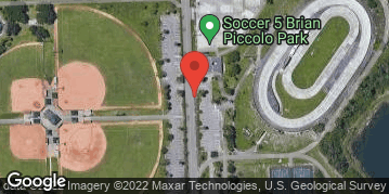 Locations for Monday Coed Kickball/Brian Piccolo Park (Summer 2019)