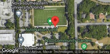 Locations for Sunday Coed Kickball/NSU Campus (Summer 2020)