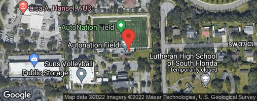 Locations for Sunday Coed Kickball/NSU Campus (Summer 2020)