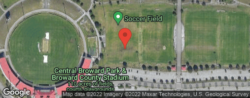 Locations for Tuesday Coed Soccer/Central Broward (Winter 2020)