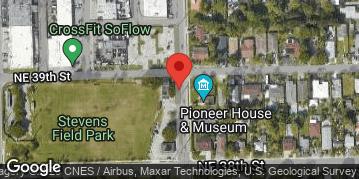 Locations for 7v7 Thursday Flag Football Men's/Stevens Field (Fall 2018)