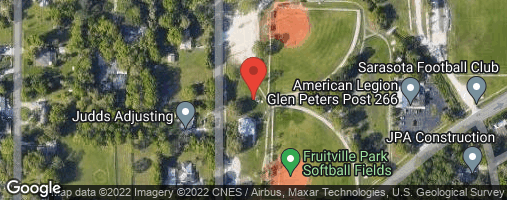 Locations for Sunday Coed Softball / Fruitville (Spring 2020)