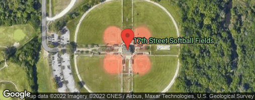Locations for Wednesday Coed Kickball / 17th Street (Fall 2020)