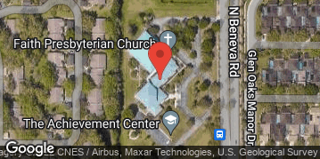 Locations for Tuesday Men's Basketball / Faith Presbyterian Church (Fall 2020)