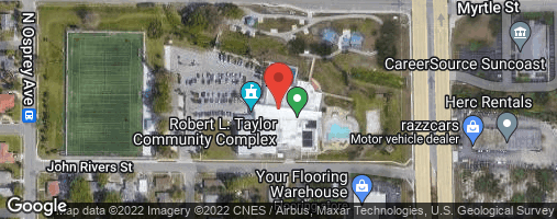 Locations for Thursday Coed Soccer 11v11 / Robert Taylor (Winter 2020)