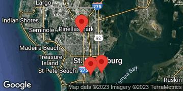 Locations for Thursday Men's Soccer / Coquina Key (Fall 2020)