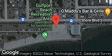 Locations for Tuesday Coed 4s Volleyball / Gulfport (Summer 2019)