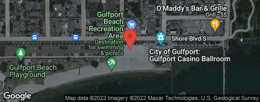 Locations for Tuesday Coed 4s Volleyball / Gulfport (Fall 2020)