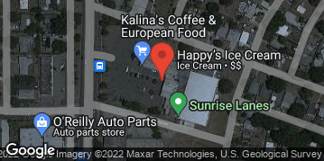 Locations for Monday Bowling / Sunrise Lanes (Fall 2 2019)