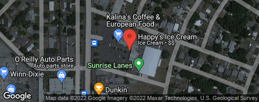 Locations for Monday Bowling / Sunrise Lanes (Summer 2 - 2020)