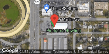 Locations for Thursday Bowling / Pinarama (Winter 2020)