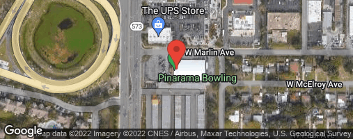 Locations for Thursday Bowling / Pinarama (Summer 2020)