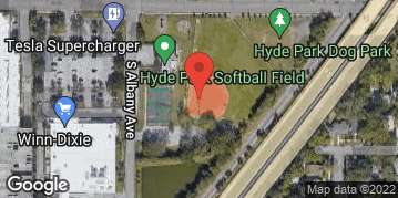 Locations for Sunday Coed Softball / Hyde Park (Summer 2019)