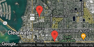 Locations for Thursday Coed Soccer / Clearwater (Spring 2021)