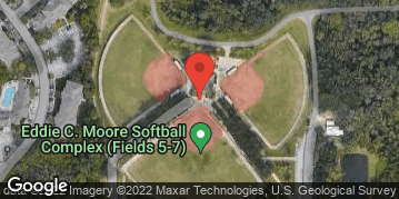 Locations for Monday Coed Softball / Clearwater (Summer 2020)