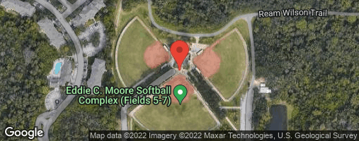 Locations for Wednesday Men's Softball / Clearwater (Fall 2020)