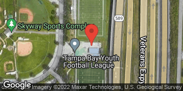 Locations for Monday Coed Flag Football / Skyway (Fall 2019)