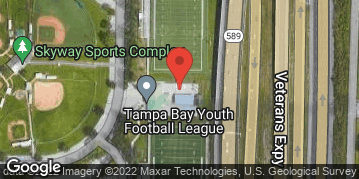 Locations for Thursday Men's Flag Football / Skyway (Summer 2019)