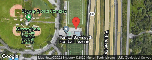 Locations for Wednesday Men's Flag Football / Skyway (Winter 2020)