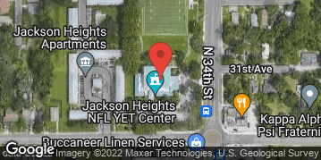 Locations for Wednesday Men's Flag Football / Jackson Heights (Fall 2021)