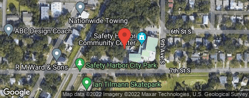 Locations for Monday Men's Basketball / Safety Harbor (Summer 2020)