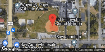 Locations for Friday Coed Social Kickball / Seminole Heights  (Fall 2020)