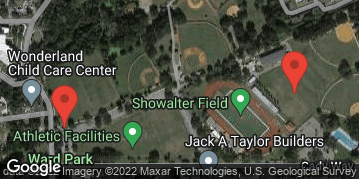 Locations for Thursday Coed Soccer (Fall 2021)
