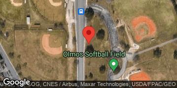 Locations for Thursday Softball October 2021 (Central)