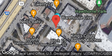 Locations for VALUE LEAGUE - Summer 2020 Sunday Dodgeball @ Pitch25