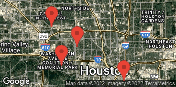 Locations for Early Fall II 2019 Thursday Kickball (13 inch Ball) Presented by Whataburger