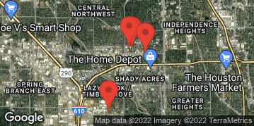 Locations for Early Spring 2021 Thursday Kickball (13 inch Ball)