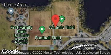 Locations for Winter Co-ed Kickball 2019-20