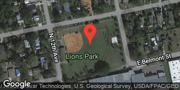 Locations for Wednesday Coed Kickball / Lions Park (Fall - 2020)