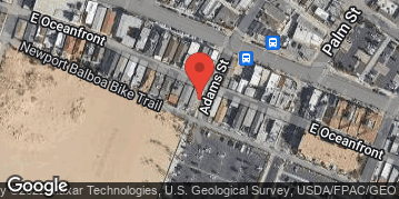 Locations for Saturday Newport Beach Volleyball : Fall 2019