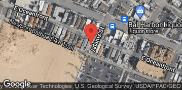 Locations for Newport Beach Volleyball League : Fall Season