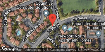 Locations for Tuesday Newport Beach TURF Flag Football : Fall 2019