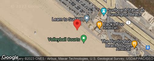 Locations for Huntington Beach CASH Flag Football Tournament : May 30th