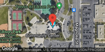 Locations for Friday Huntington Beach Kickball : Winter 2019