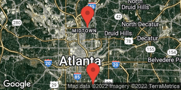 Locations for Spring 2017 - Flag Football (Co-Ed) 7v7 Multiple Divisions - Midtown - Saturday