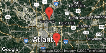 Locations for March Flag Football 7v7 (Co-Ed) - Rec Division - Piedmont Park - Sunday Evening