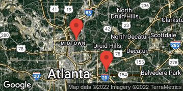 """Locations for Fall 2016 - Ultimate Frisbee (Co-Ed) - """"B"""" (Intermediate) - Midtown - Wednesday"""