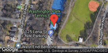 Locations for Washington Park Pick-Up Kickball Games